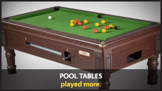 Pool Tables - played more